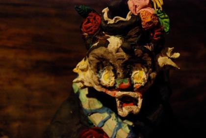 Allison Schulnik, Hobo Clown (still), 2008