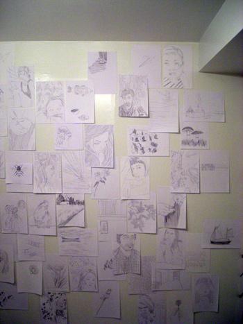 Ephameron, Drawings