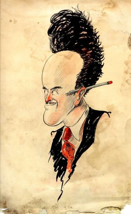 Ub Iwerks, Cartoonist