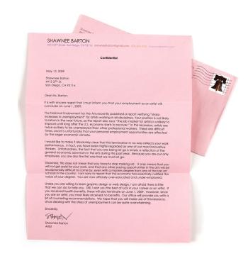 Shawnee Barton, Pink Slip