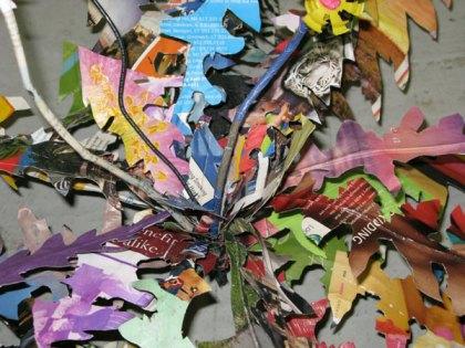 Scott Wolniak, Weed Sculpture